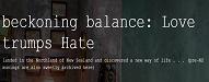 beckonbalance